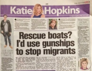 Katie Hopkins gunships
