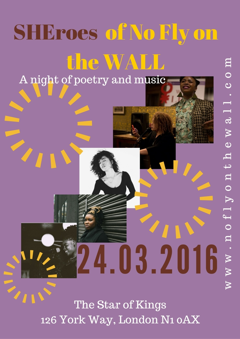 **Event** SHEroes of No Fly on the WALL: Celebrating Black British FemalePerformers
